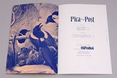 "Oi Polloi ""Pica-Post"" Magazine 