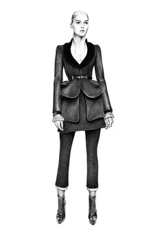 Nu206 #fashion #drawing