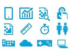 Hewlett Packard – Corporate Branding | Preston Lewis – Creative Portfolio #pictogram #iconography #icon #sign #glyph #iconic #picto #symbol #emblem