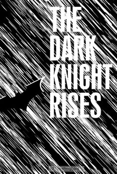 The Dark Knight Rises #minimalist #movie #poster #batman