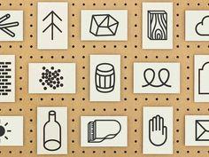 Marks and symbols - Massdison Graphic #flat #marks #icons #symbols