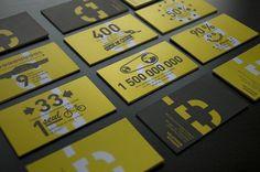 DUMOULIN BICYCLETTES : Sébastien Bisson #stationary #branding #print #yellow #identity