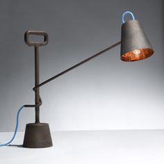 Copper Lamp 10kg by Tobias Sieber and Samuel Treindl #lighting