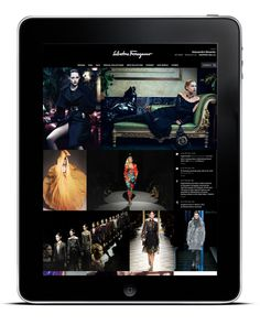 Salvatore Ferragamo 2012 #design #website #app #fashion #web