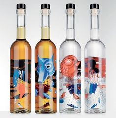 Michelberger Booze Company | Lovely Package #packaging #illustration #collage