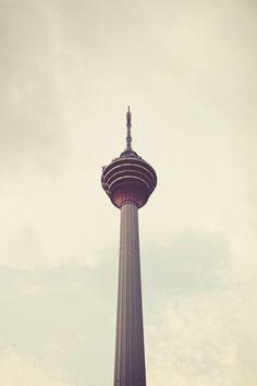 Retro Kuala Lumpur Tower by IgorOvsyannykov on 500px #retro #architecture #vintage #minimal #summer #beautiful #tower