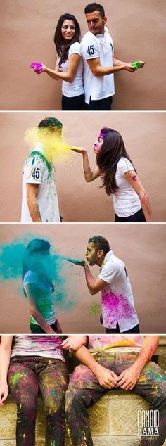 Throw Romantic Squish of Color