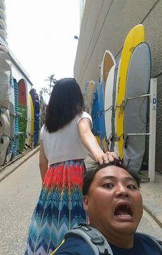 Hilarious Parody of Taiwanese Couple #FollowMeTo meme