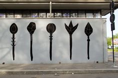 unurth | street art #wand #art #black #street