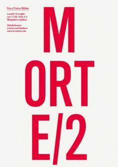 Salottobuono > news #design #minimal #poster #essential #type #typography