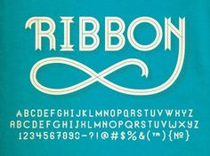 Graphic-ExchanGE - a selection of graphic projects #typeface #ribbon