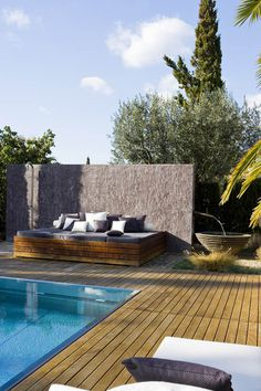 CJWHO ™ (summer home on formentera | photographer: Jordi...) #design #wood #pool #photography #architecture #luxury
