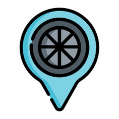 See more icon inspiration related to maps and location, location pin, map pointer, map point, map location, placeholder, transportation, locate, pointer, pin and location on Flaticon.