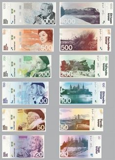 Redesigning the Swedish Banknote » ISO50 Blog – The Blog of Scott Hansen (Tycho / ISO50) #banknote #money #swedish