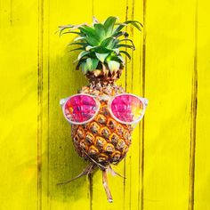 Eat Pineapple, Enjoy Summer! #Sample - Be inspired by Rawpixel.com.#foodcollection #eat #pleasure #enjoy #food #pineapple #realimage #so