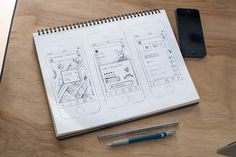 Ui-sketch-full #wireframe #scribble