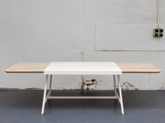Judd Table by Trust in Design #modern #design #minimalism #minimal #leibal #minimalist