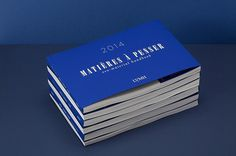 MATIERES A PENSER 2014 #edition #design #graphic #book #catalogue #blue #editorial #typography