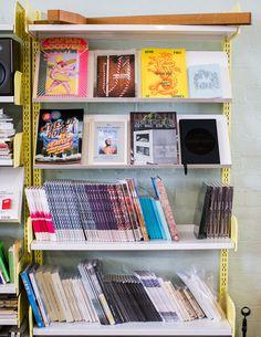 Stuart bookshelf