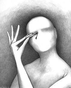Hermetic Art 01 on the Behance Network #razor #alex #andreyev