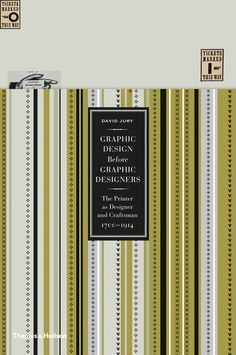 Graphic Design before Graphic Designers #cover #print #book