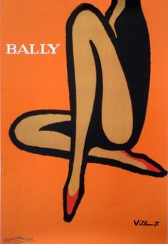 Villemot Bally Orange #villemot #bernard