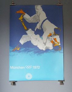 Otl Aicher 1972 Munich Olympics - Posters - Sports Series #otl #1972 #aicher #olympics #munich