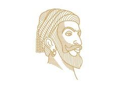 Sivaji #line_art#editorial#portrait#india#illustration#digitalart#history