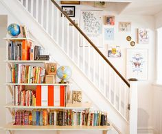 Design*Sponge » Blog Archive » halligan9 #interior #design #decor #stairs #decoration