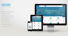 Xeon : Free Responsive Bootstrap Onepage HTML5 Template