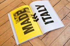 North × Fourth Floor: 20 Years – SI Special | September Industry #design #book #typography