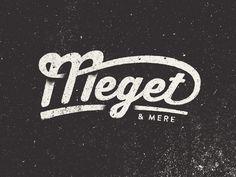 Meget & Mere #logo #design #lettering #typography
