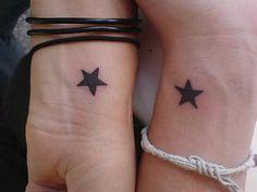 40+ Creative Best Friend Tattoos #bff #friend #best #tattoo #idea