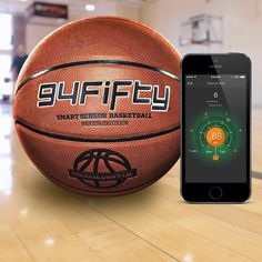 94Fifty Smart Sensor Basketball #game #gadget #basketball
