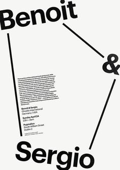 James Cullen | Graphic Designer #typographic #monochromatic #poster