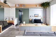 Small Studio Apartment by Estudio BRA - InteriorZine
