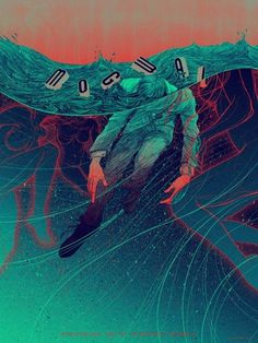 b0f2a51f72cca68c7c6e3cd7eb0ec160_L.jpg (480×640) #mogwai #line #drowning #water #illustration #poster #music #concert