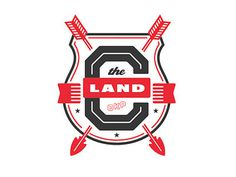 The_land_v1 #branding #land #the #vintage #badges #logo