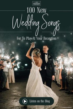 We have taken the time to come up with an extensive list of wedding songs to help you pick the right music in 2018.