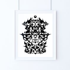 i have a dream and a nightmare #illustration #abstract #black #white #silkscreen