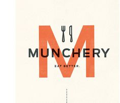Munchery, Kelli Anderson #branding #anderson #identity #logo #kelli
