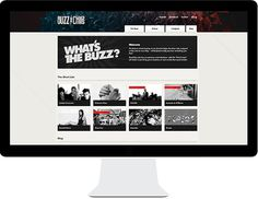 BuzzChips #grid #background #web