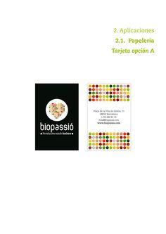 Biopassió, productos con alma #design #graphic #identity #logo #cards