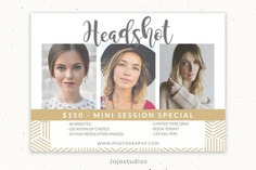 Headshot Template