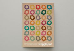 Wrigglepot Branding #repetition #illustration #colors #identity