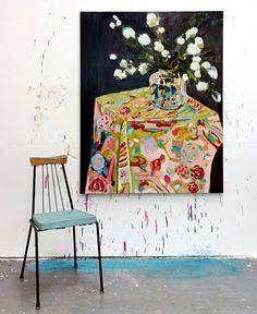 Still Life by Laura Jones - #art,#painting,#fineart