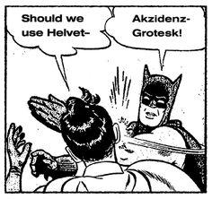 Michael George Haddad #batman #robin #batmanandrobin #typography #fonts #batmanslap