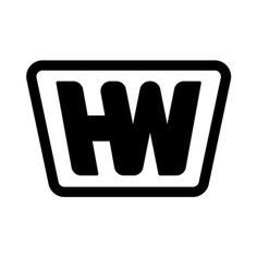 HW Logo #H #Logo #W #Logo #symbol #Icon #Vector #Minimal
