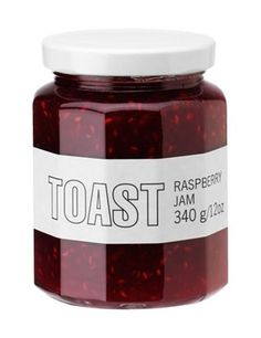 JAMS AND MARMALADES | TOAST #packaging #jam