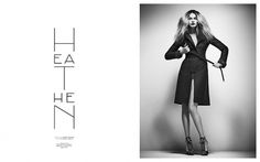 Fashion | Heathen | Volt Café | by Volt Magazine #beauty #white #design #graphic #black #photography #art #and #fashion #layout #typography